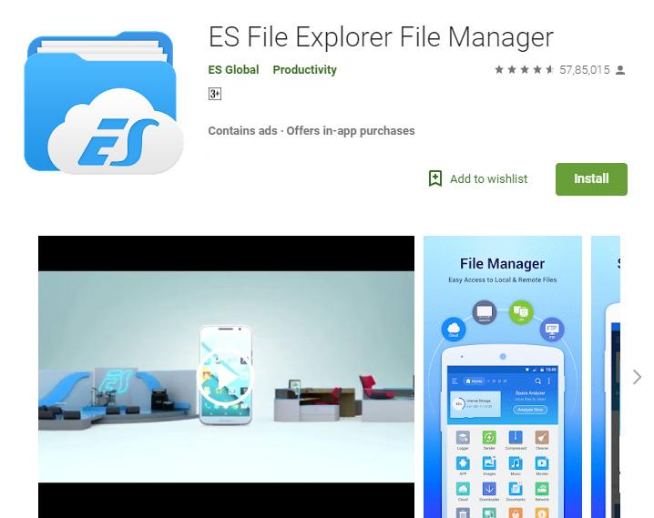 es-file-explorer-playstore