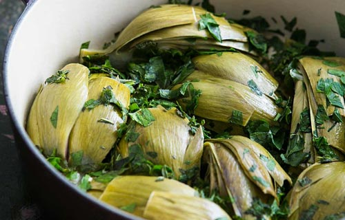 ways of cooking artichokes
