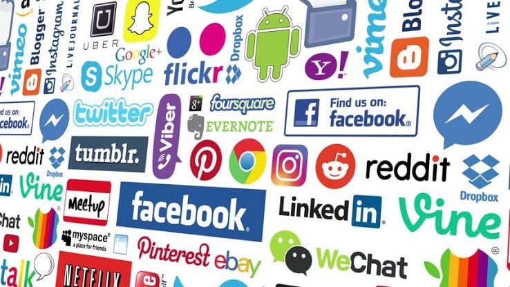 Most popular social media