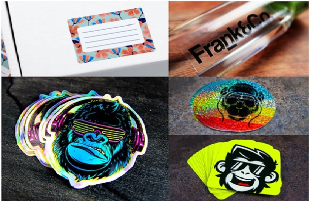 The top 8 uses of custom labels & what type of material they use